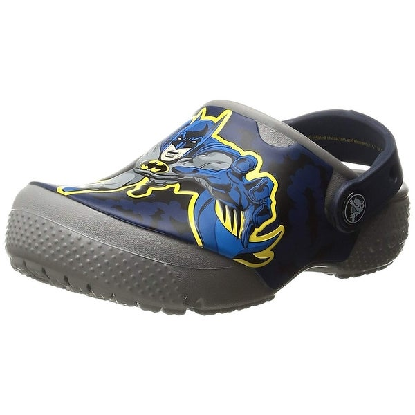 Shop Crocs Kids  Fun Lab Batman Clog - On Sale - Free Shipping On ... 4d890547cd8