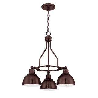 Jeremiah Lighting 35923 Timarron Single Tier 3 Light Chandelier - 22 Inches Wide (3 options available)