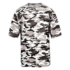 Adult Camo Short-Sleeve T-Shirt WHITE CAMOUFLAGE M
