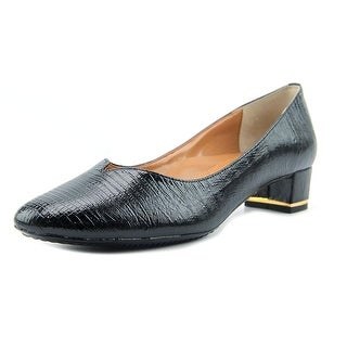 J. Renee Bambalina Women W Round Toe Synthetic Black Heels