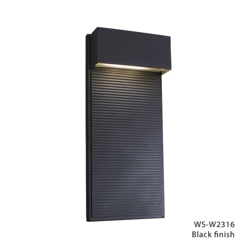 Modern Forms WS-W2316 Hiline 1 Light LED ADA Compliant Outdoor Wall Sconce - 7 Inches Wide