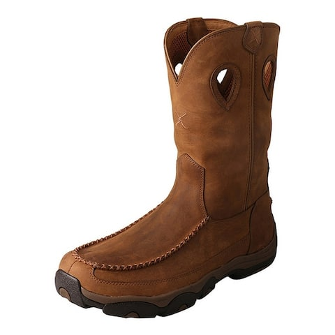 """Twisted X Outdoor Boots Men 11""""WP Composite Distressed"""