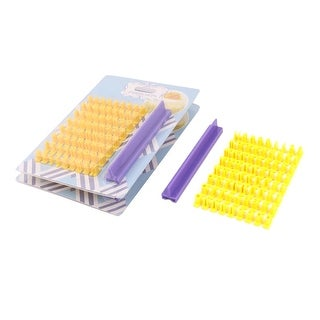 Home Plastic English Letters Pattern DIY Baking Tool Cookie Mold Stamp 3 Set
