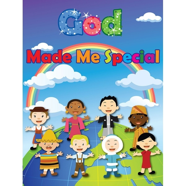 Children's Poster God Made Me Special Series 3 (18x24) - Multi-Color