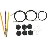 - Acrylic Needles Interchangeable Starter Knitting Set
