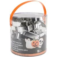 Halloween - Cookie Cutter Tub 18Pcs