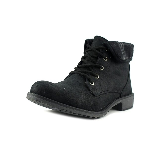 White Mountain Neponset Women Black/Mul/Distr Boots
