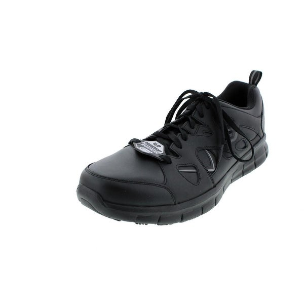 Confirmación Efectivamente Prisión  Skechers Mens Synergy-Tal Slip Resistant Work Shoe Health Care & Food  Service