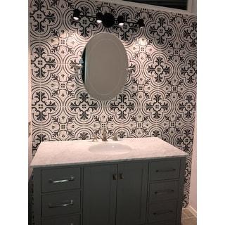 SomerTile 7.75x7.75-inch Thirties Vintage Ceramic Tile (25 tiles/11.11 sqft.)
