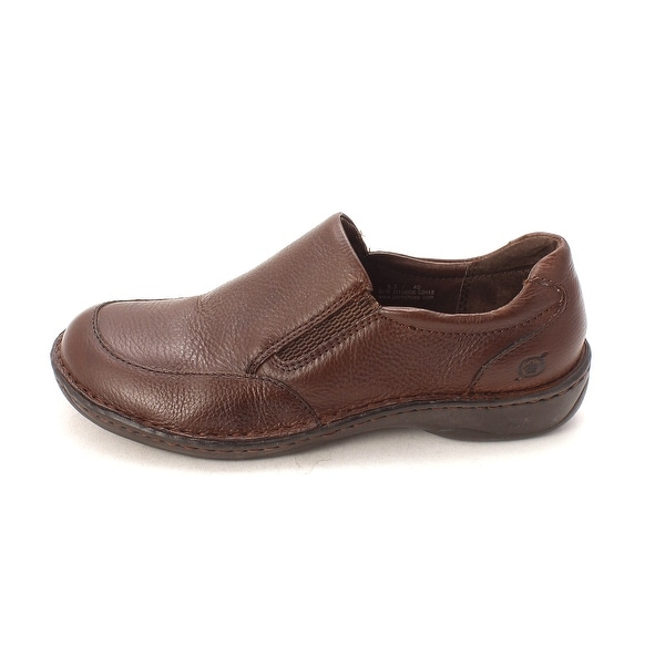 B.O.C Womens Pearl Leather Closed Toe Loafers, Cinnamon, Size 8.5