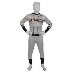 """Men's San Francisco Giants Baseball Halloween Costume - standard (44-46"""" chest)"""
