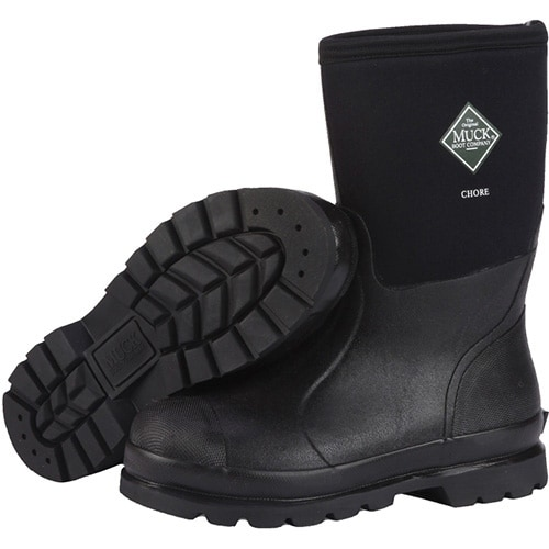 Muck Boots Unisex Chore Mid Boot w/ Breathable Airmesh Linings - M6 / W7