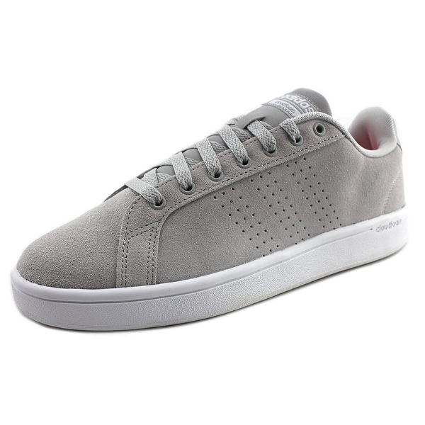 Adidas CF Advantage CL Men Round Toe Suede Gray Sneakers