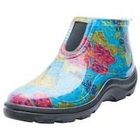 Inc  Size 10 Women in.s Blue Rain & Garden Ankle Boots