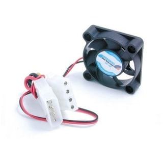 Startech Replacement Dual Ball Bear Computer Case Fan With Lp4 Fan4x1lp4 (Black)