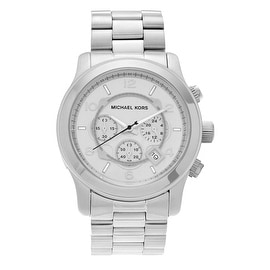 Michael Kors Men's 'Runway' MK8086 Stainless Steel Chronograph Bracelet Watch