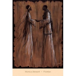 ''Promise'' by Monica Stewart African American Art Print (36 x 24 in.)