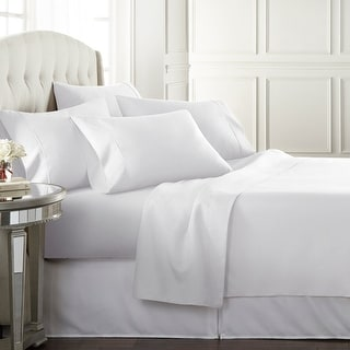 HC Collection Luxury Ultra Soft 1800 Series 6-Piece Bed Sheet Set, Deep Pocket