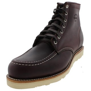 Chippewa Mens Casual Boots Leather Moc Toe
