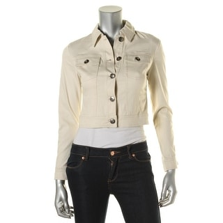 Kensie Womens Cotton Fitted Jacket - XS