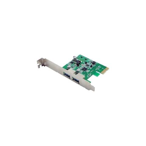 VisionTek 2 Port USB 3.0 PCIe Bus Internal Card USB Controller Plug-in Internal Card