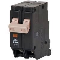 Eaton CHF215 Double Pole Circuit Breaker, 15 Amp, 120/240 Volts AC