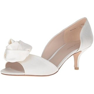 Pelle Moda Womens Tessa Pumps Silk D'Orsay