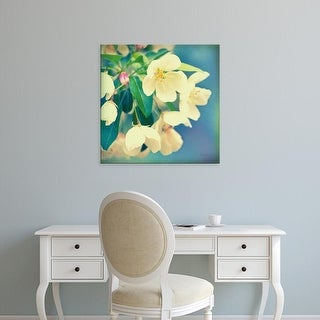 Easy Art Prints Sue Schlabach's 'Natures Apple Blossom' Premium Canvas Art