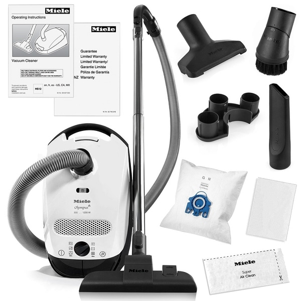 Shop Miele Classic C1 Olympus Canister Vacuum Cleaner