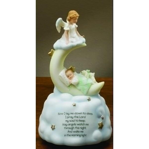 "7"" Sweet Dreams Baby Angel Religious Musical Figure - N/A"