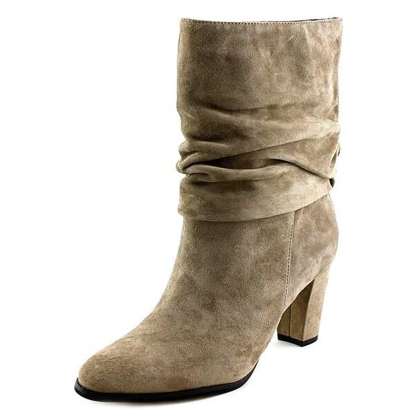 Ivanka Trump Jalli Women  Round Toe Suede  Mid Calf Boot