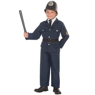 Forum Novelties British Bobbie Child Costume (M) - Blue - Medium