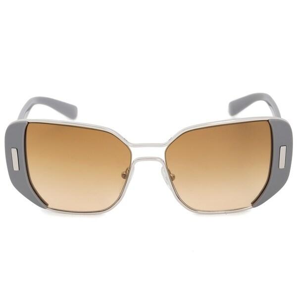 6e93369891 Shop Prada Square Sunglasses PR59SS UR91G0 54 - On Sale - Free ...