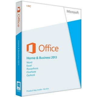Microsoft Office Home and Business 2013 for Windows