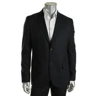 Tommy Hilfiger Mens Two-Button Blazer Wool Notch Collar - L https://ak1.ostkcdn.com/images/products/is/images/direct/377761ff05bf9f635a0b9d183c66d1ea1b795a0f/Tommy-Hilfiger-Mens-Wool-Notch-Collar-Two-Button-Blazer.jpg?impolicy=medium