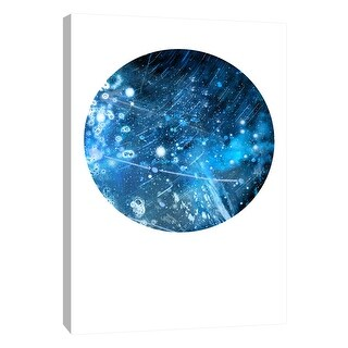 """PTM Images 9-105935  PTM Canvas Collection 10"""" x 8"""" - """"Interstellar Sphere 6"""" Giclee Celestial Art Print on Canvas"""