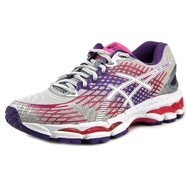 Asics Gel-Nimbus 17 Women 2A Round Toe Synthetic Gray Running Shoe