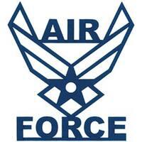 """Air Force - Cardstock Laser Die-Cuts 4""""X6"""""""