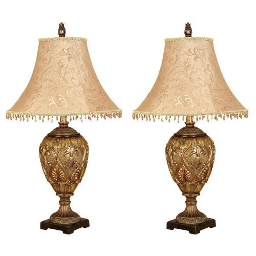 Aspire Home Accents 58098 Dessa Table Lamp (Set of 2)