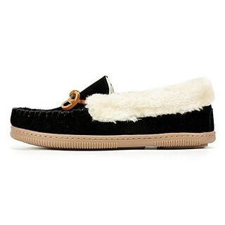 White Mountain Women's Sleepover Moccasin Slippers