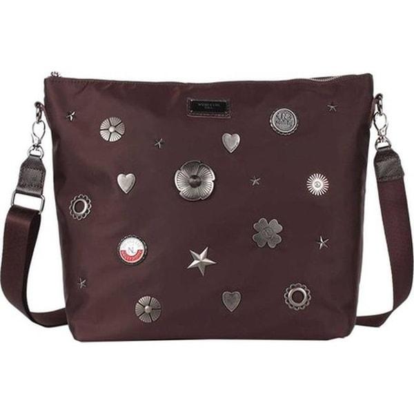 6201d37dc900 Shop Nicole Lee Women s Liya Lucky Charms Cross Body Bag Brown - US ...