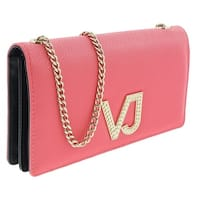 Versace EE3VRBPC3 Coral Wallet on Chain - 7.5-4.5-1