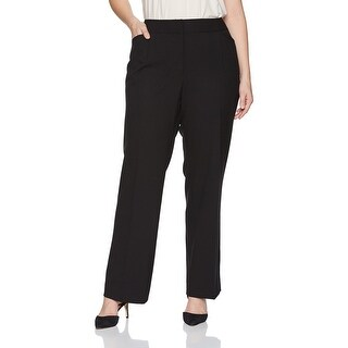 c7a7cc63631 Shop Tahari ASL Women s Plus Linda Dress Pants Stretch - Free Shipping  Today - Overstock.com - 26897891