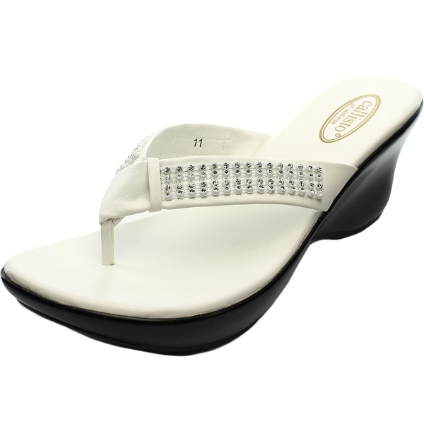 Callisto Rorrie Women Open Toe Synthetic Wedge Sandal