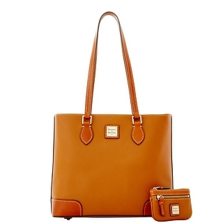 Dooney & Bourke Pebble Grain Richmond with Coin Case (Introduced by Dooney & Bourke at $275 in Dec 2015) - Caramel