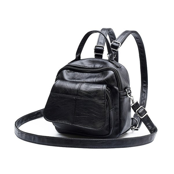 7ff675682 Lady Casual Faux Leather Backpack Shopping Cross Body Shoulder Bag Birthday  Gift