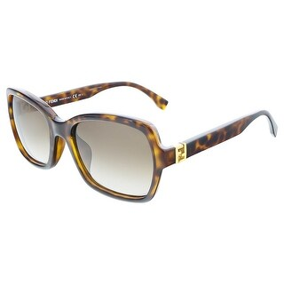 Fendi FF0007S 0EDJ Havana Butterfly sunglasses