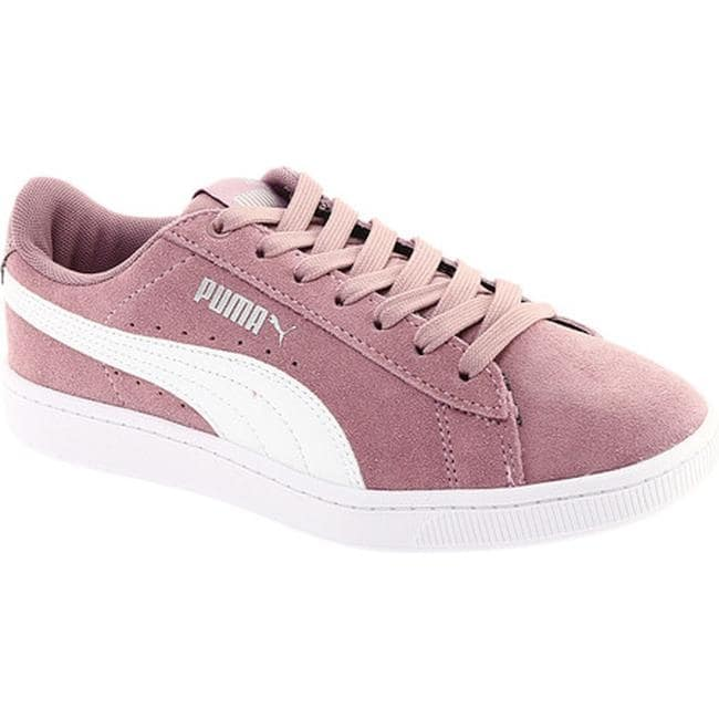 sports shoes 3dbdc 574f3 PUMA Women's Vikky V2 Retro Sneaker Elderberry/PUMA White/PUMA Silver