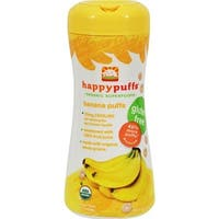Happy Family - Organic Puffs - Banana ( 6 - 2.1 OZ)