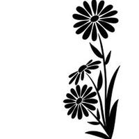 "Large Daisy - Embossing Folder 4.25""X5.75"""